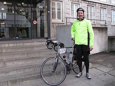4 avril 2012 : départ du commissariat de Brest