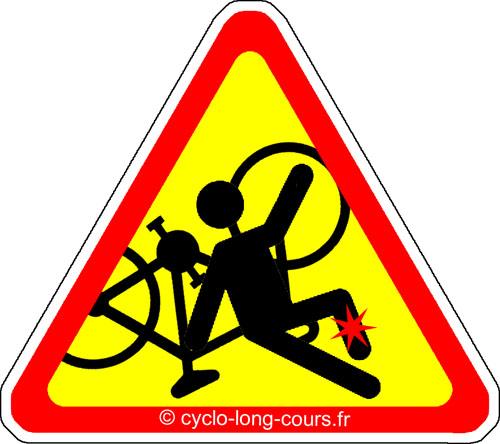 Chute de vélo !
