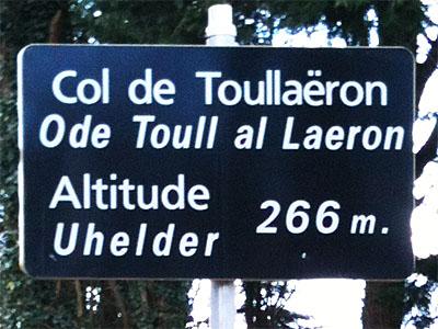 Col de Toullaëron