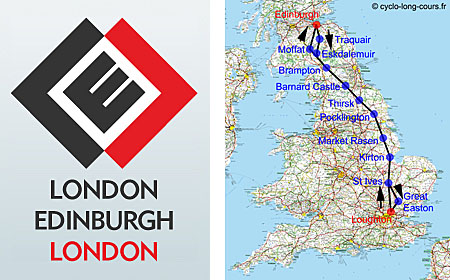 LEL : London-Edinbourgh-London (Londres-Edimbourg-Londres)