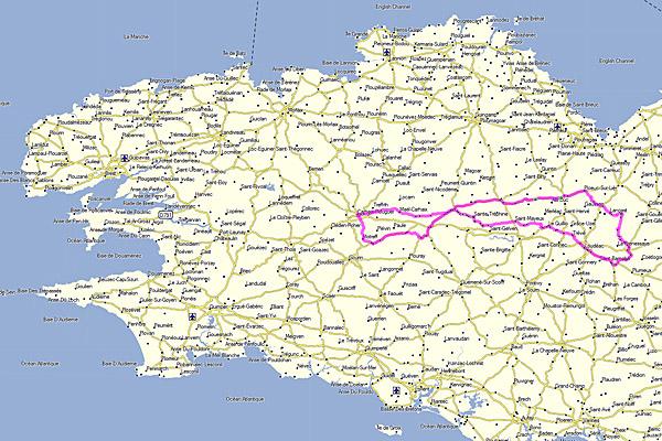 05 octobre 2013 : 205 km, Dodécaudax 3/12