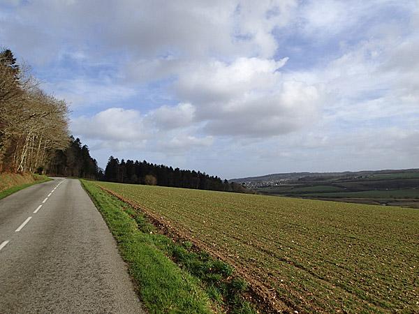 RD233 : La Forest-Landerneau