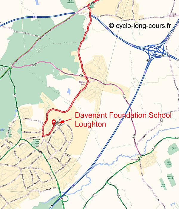 Carte Loughton