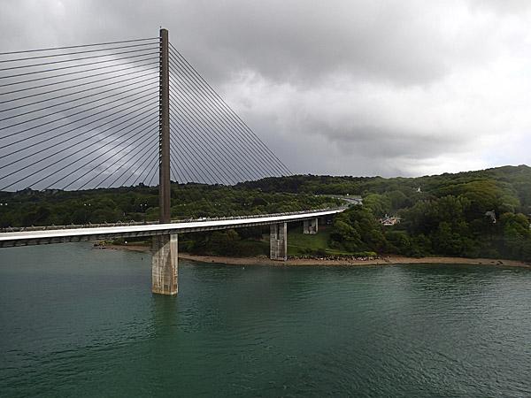 28 mai 2013 : L'Elorn et le pont de l'Iroise ©cyclo-long-cours.fr