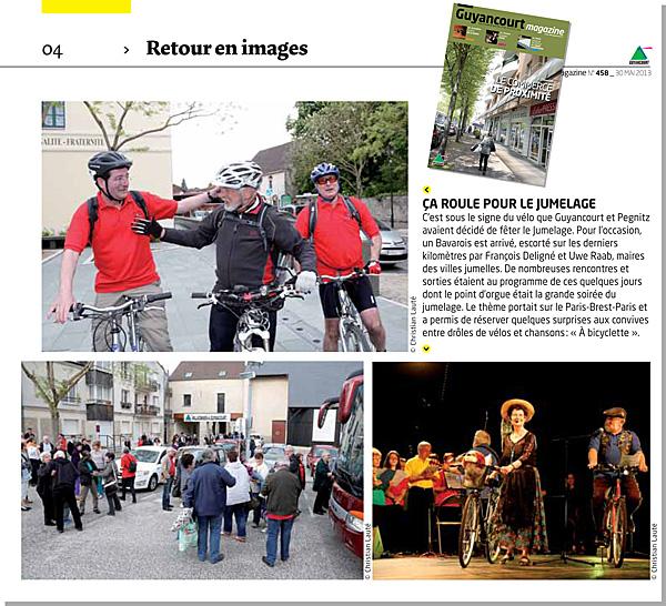 Guyancourt Magazine n°458 du 30 mai 2013