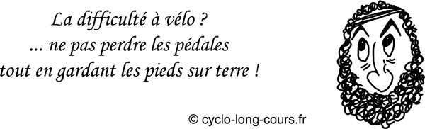 Cyclogito n°04 - Perdre les pédales ©cyclo-long-cours
