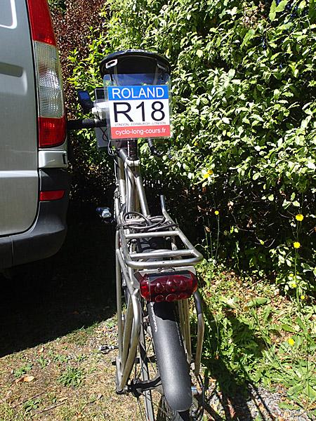 Vélo paré pour Londres-Edimbourg-Londres ©cyclo-long-cours.fr