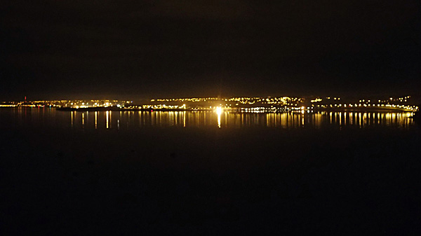 Brest by night ©cyclo-long-cours.fr