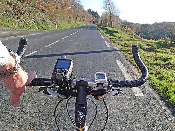 07 décembre 2013 : première sortie avec mon nouveau Mountain Bike