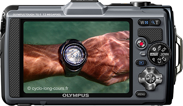 Olympus TG-1  ©cyclo-long-cours.fr