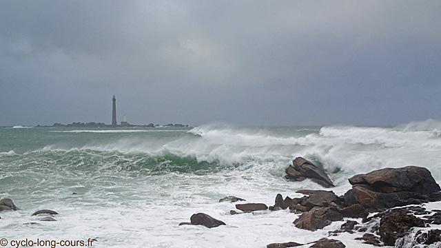 Phare de l'Île Vierge, Finistère - 1er janvier 2014 ©cyclo-long-cours.fr