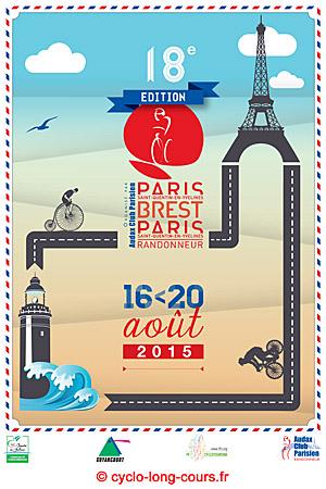 Affiche officielle PBP 2015