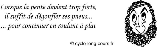 Cyclogito n°06 - Rouler à plat ©cyclo-long-cours