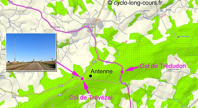 Cols de Trédudon et de Trévézel