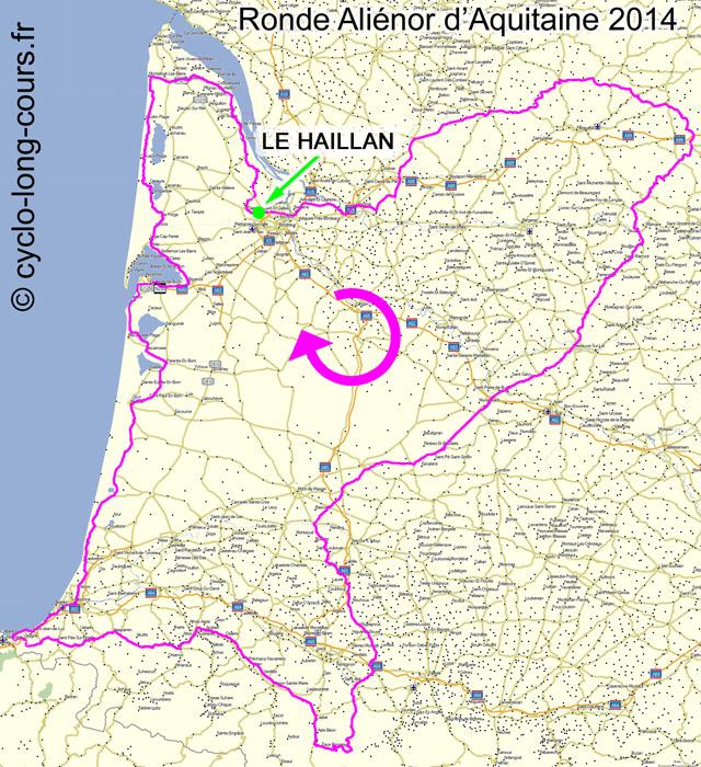 Ronde Aliénor d'Aquitaine 2014
