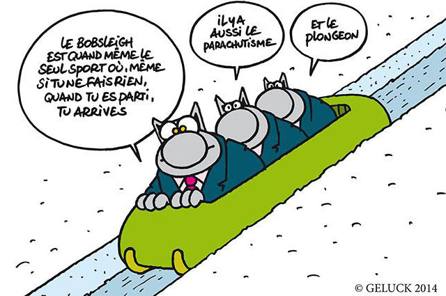 Le Chat ©GELUCK