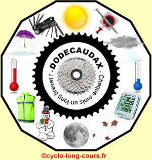 Logo Dodécaudax ©cyclo-long-cours.fr
