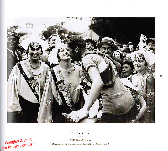 Charles Pélissier - Tour de France 1931 - Goggles & Dust
