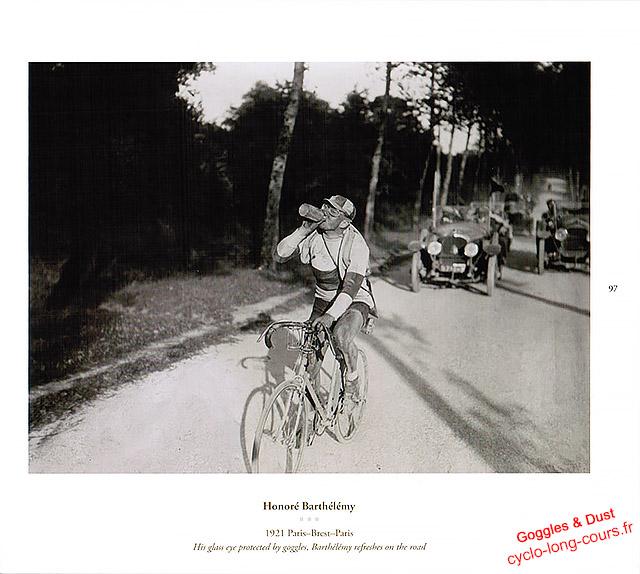 Honoré Barthélémy - Paris-Brest-Paris 1921 - Goggles & Dust