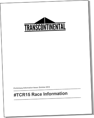 TCR 2015, Race Manual