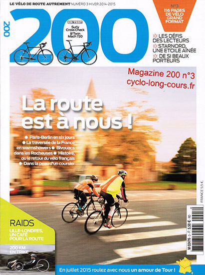 Magazine 200, n°3 - Hiver 2014-2015 ©cyclo-long-cours.fr