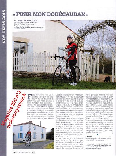 Magazine 200 n°3 : le Dodécaudax