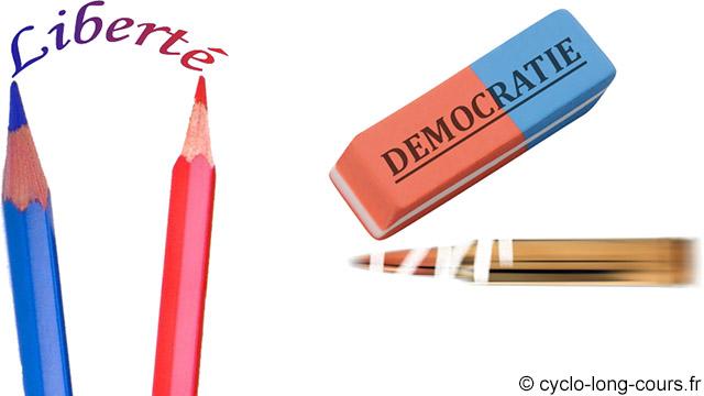 Liberté & Démocratie ©cyclo-long-cours.fr