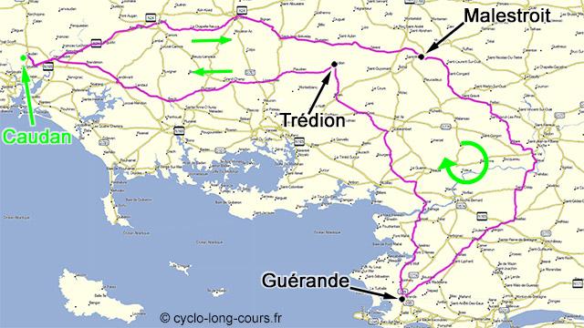 18 avril 2015 : 309 km, Dodécaudax 21/21 (BRM 300 Caudan)