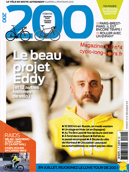 Magazine 200, n°4 - Printemps 2015 ©cyclo-long-cours.fr