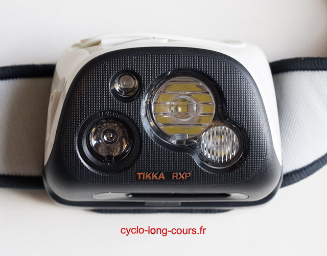 Lampe frontale PETZL TIKKA RXP ©cyclo-long-cours.fr