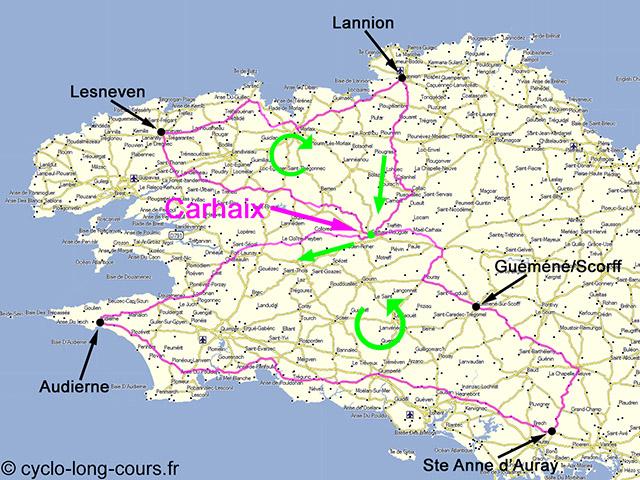 06-07 juin 2015 : 603 km, Dodécaudax 23/23 (BRM 600 Carhaix)