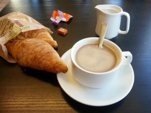 7 juin 2015, BRM 600 Carhaix : petit déjeuner à Sizun