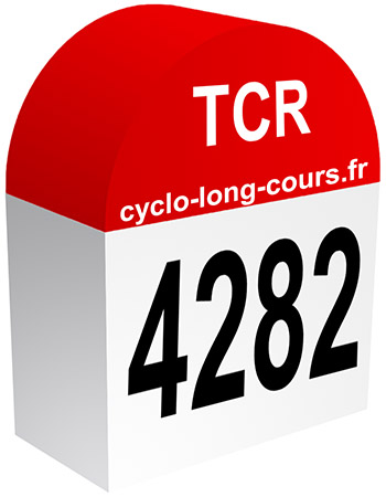 TCR - 4282 km ©cyclo-long-cours.fr