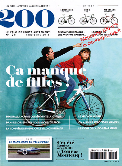 Magazine 200, n°8 - Printemps 2016 ©cyclo-long-cours.fr