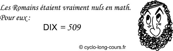 Cyclogito n°07 - Les Romains et les math ©cyclo-long-cours
