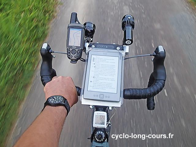 Tableau de bord cyclo-long-cours