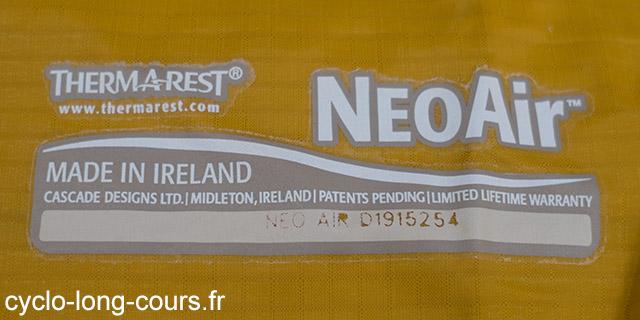 Matelas Therm-A-Rest Neoair XLite