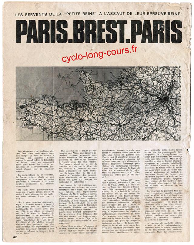 PARIS - BREST - PARIS