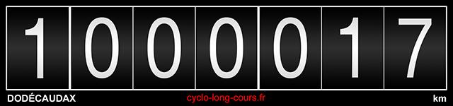 11 décembre 2016, le Dodécaudax franchit de million de kilomètres