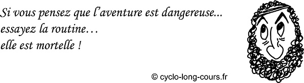 Cyclogito n°09 - Routine ©cyclo-long-cours
