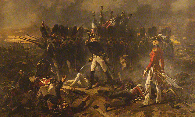 Cambronne à Waterloo, tableau d'Armand Dumaresq