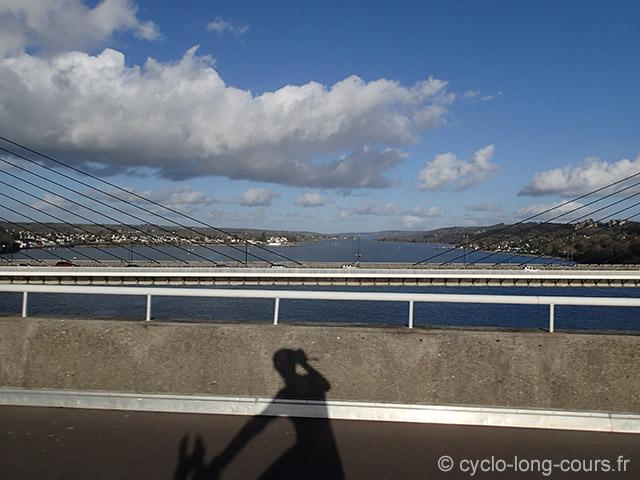 L'Elorn, vue du pont Albert Louppe