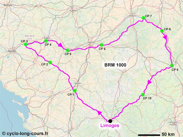 BRM 1000 Limoges 2018