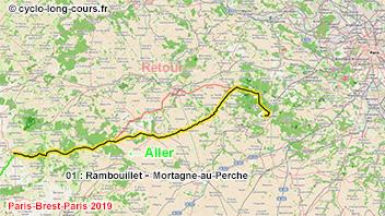 PBP2019 - 01: Rambouillet - Mortagne-au-Perche