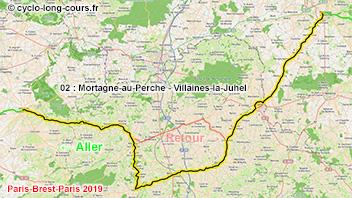 PBP2019 - 02: Mortagne-au-Perche - Villaines-la-Juhel