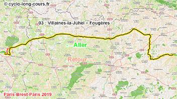PBP2019 - 03: Villaines-la-Juhel - Fougères