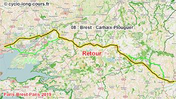 PBP2019 - 08: Brest - Carhaix-Plouguer