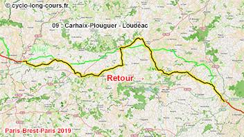 PBP2019 - 09: Carhaix-Plouguer - Loudéac