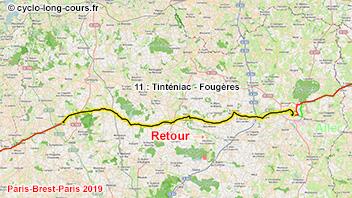 PBP2019 - 11: Tinténiac - Fougères