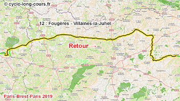 PBP2019 - 12: Fougères - Villaines-la-Juhel